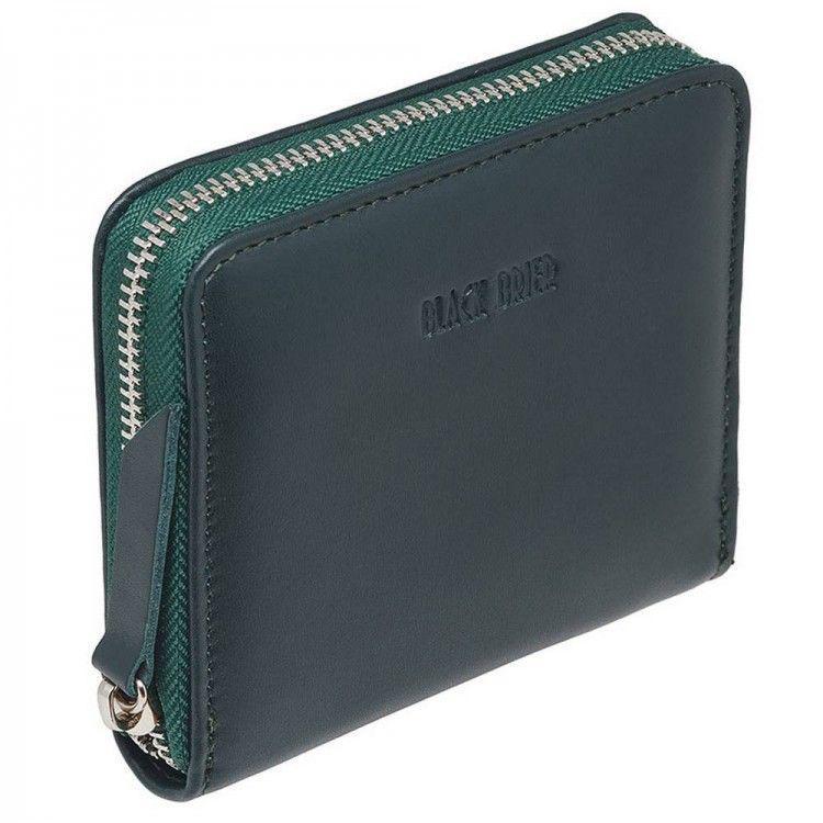 c7d1608d9665 Кожаный маленький женский кошелек на молнии Black Brier арт. WW4Green -  BagShop.ua интернет
