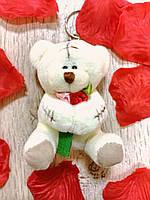 "Брелок тедди ""love"" с присоской,    подарок на 8 марта"