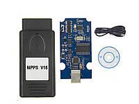 MPPS V16 ECU професійний програматор ЕБУ автомобілів для чіп тюнінга EDC15 EDC16 EDC17