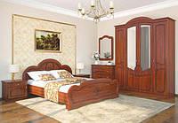 Спальня Каролина (Karolina) орех классический / вишня портофино