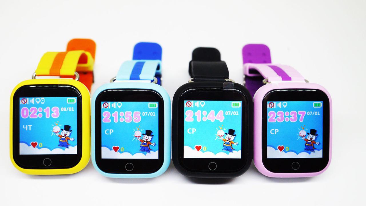 Smart Baby Watch Q100 Детские смарт часы с GPS трекером
