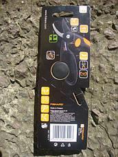 Плоскостной секатор Fiskars с петлей для пальцев (111440), фото 3