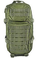 Штурмовой (тактический) рюкзак ASSAULT S Mil-Tec by Sturm Olive 20 л. (14002001), фото 2