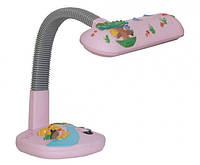 Лампа настольная DL2008, 11W G23, розовая