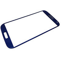 Стекло дисплейного модуля Samsung I9500 Galaxy S4 blue high copy