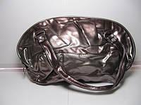 Стильная женская сумка шоколадного цвета