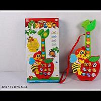 Музыкальное.развивающее.Яблочко CY-6061B (48шт/2) батар, звуки животных, в кор.42*19*5, 5см  Новинка!