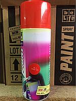 Универсальная акриловая аэрозольная эмаль BeLife (Оранжево-красный)