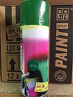 Эмаль универсальная акриловая аэрозольная BeLife (темно-зелёный)