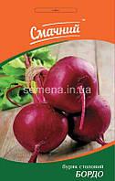 Насіння Буряк столовий Бордо 3 г ТМ Смачний Професійне насіння
