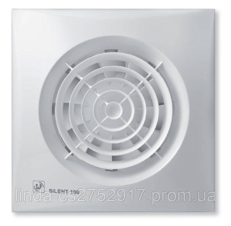 Вентилятор вытяжной SILENT-100 CHZ *230V 50* , Soler & Palau