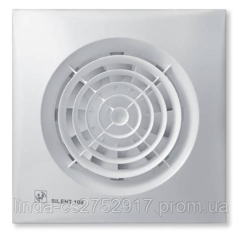 Вентилятор вытяжной SILENT-100 CHZ *230V 50* , Soler & Palau, фото 2