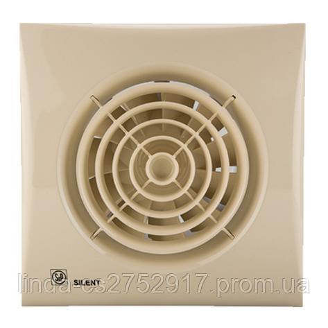 Вентилятор SILENT-100 CZ IVORY (230V 50) , вентилятор вытяжной Soler&Palau, фото 2
