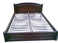 """Кровать из натурального дерева """"Арка"""" Voldi"""