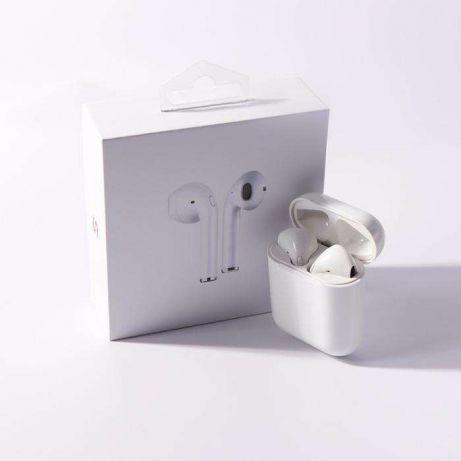 Наушники Беспроводные Bluetooth Apple Airpods I7S Ifans TWS с Док Станцией  + Power Bank + Кабель 4a813b602bf23