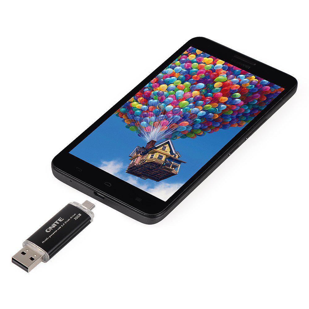 USB-MicroUSB накопитель Onite 2в1 32GB