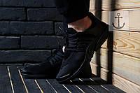 Мужские Кроссовки Nike Air Presto Black Реплика ААА+