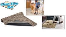 Быстро впитывающий при дверный коврик «Clean Step Mat», фото 3