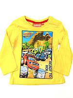 Реглан для мальчика желтый Disney 3-8лет