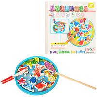 Деревянная игрушка Магнитная игра Рыбалка MD 1047