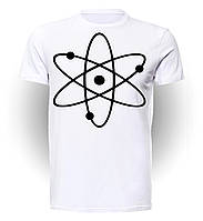 Футболка GeekLand Теория Большого взрыва The Big Bang Theory Atom BB.01.004