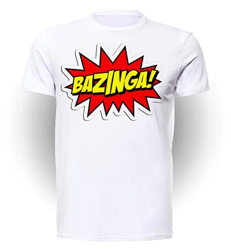 Футболка GeekLand Теория Большого взрыва The Big Bang Theory Bazinga boom BB.01.007