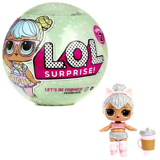 Лялька BB23 LOL Сюрприз ХІТ 2018! L.O.L surprise! 2 сезон в коробці