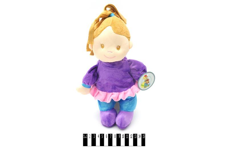 Кукла мягкая 8275 \ 28 в костюме, 28 см