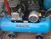 Компрессор масляный с ременной передачей 600/100
