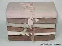 Махровые полотенца Sikel Sacakli Delux Cotton