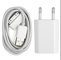 Комплект для зарядки iPhone 4/4S/iPod 2 в 1, фото 1