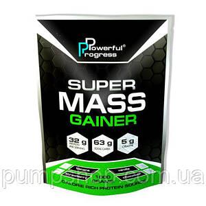 Гейнер Powerful Progress Super Mass Gainer 1000 грамм (32% белка)