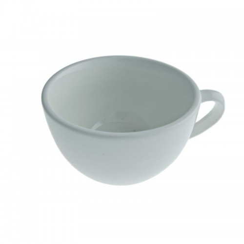 Чашка 300 мл. фарфоровая, белая Cafe time, FoREST