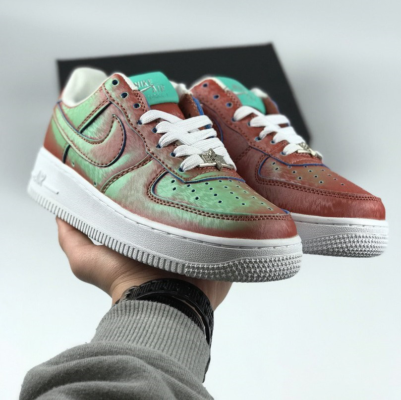3dc7b704b Женские кроссовки Nike Air Force 1 Low Preserved Icons / Lady Liberty  (Реплика ААА+)