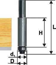Фреза кромочная прямая ф12,7х25 мм,хв.8 мм, по ДСП