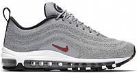 Кроссовки Nike Air Max 97 OG Ultra Swarovski Grey. Живое фото (Реплика ААА+)