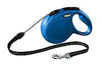 Поводок-рулетка Flexi NEW CLASSIC (Флекси Нью Классик) Cord M трос 5 м для собак до 20 кг (цвет в ассортименте)