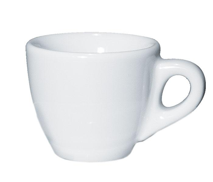 Чашка 55 мл. фарфоровая, белая espresso Palermo, Ancap