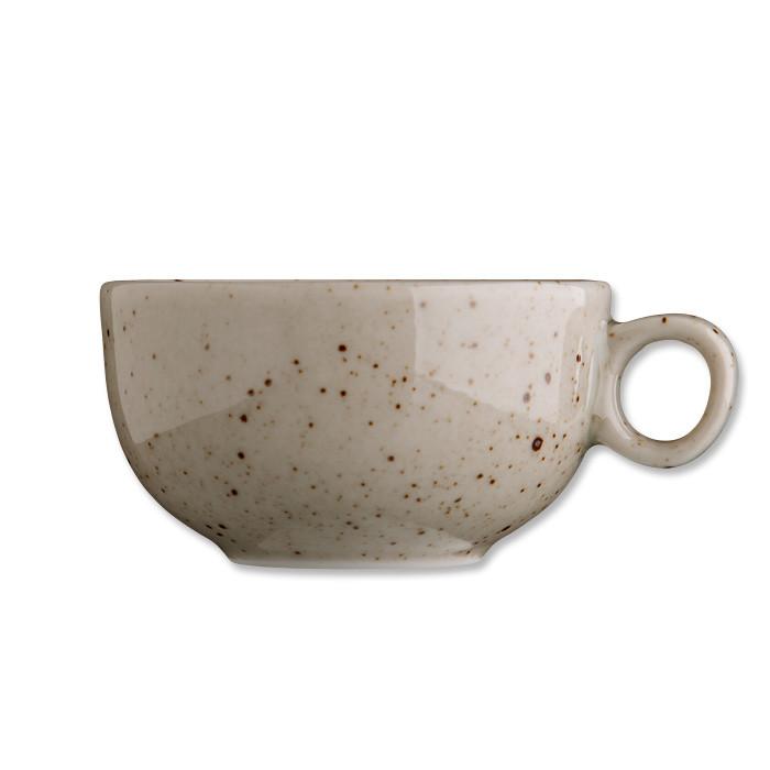 Чашка 90 мл. фарфоровая, бежевая espresso NATURAL Life style, G.Benedikt