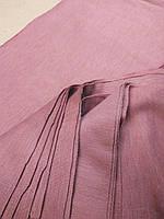 Трикотаж французский бежево-розовый теплый набор 8 кусков длч пошива детской одежды 48*17см 8шт за 35грн