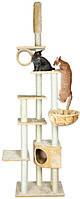 Дряпка для кошки Trixie Madrid  с потолочным креплением бежевая