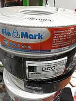 Кабель Fin Mark RG-6 (белый,чёрный)-100 метров