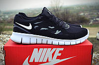Женские кроссовки Nike Free Run Plus 2. Живое фото! Топ качесто (Реплика ААА+)