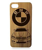 """Дерев'яний чохол  Wooden Cases для Apple iPhone 6 plus з лазерним гравіюванням """"BMW F10"""""""