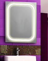 Зеркало с led  подсветкой 600х800мм, Лэд