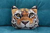 Подушка с 3D принтом тигра