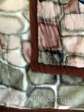 Плед акриловый облегченный True Love Камни цветные (150x200), фото 2