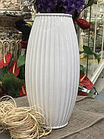 Ваза для цветов Samanta белая