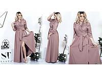 Платье женское  гипюр в пол+++БАТАЛlb25