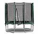 Прямоугольный батут KIDIGO™ 215 х 150 см. с защитной сеткой BT215-150, фото 2
